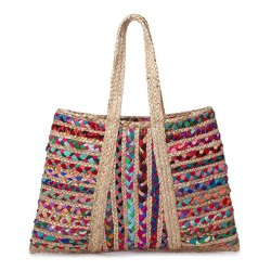 Indian Jute Bag Jute And Chandi Bag