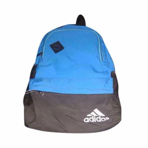 Polyester Plain Adidas School Bag Rs