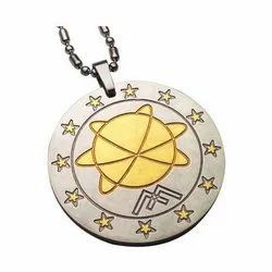 Golden Scalar Energy Pendant