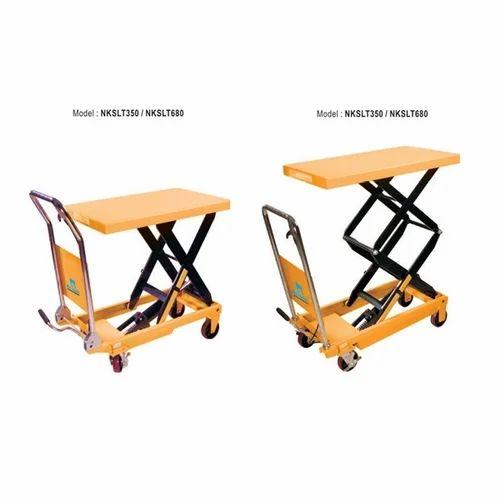 Nilkamal Nkslt680 Scissor Lift Table, Nilkamal Limited | ID: 19334621791