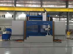 Double Column Moving Cross Rail CNC VTL