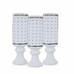 GP-F8020 White Plastic Pot