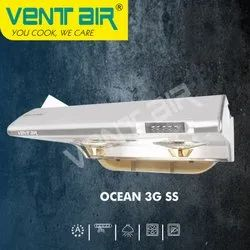 OCEAN 3G SS Ventair Kitchen Chimney