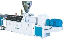 Conical Twin Screw Extruder for PVC Profile