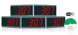 Wi-Fi Synchronized Digital Clock
