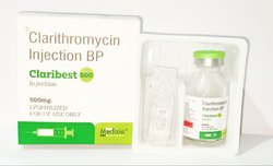 Liquid Allopathic Clarithromycin Injection BP, 500 Mg