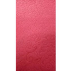 Pink Textured Non Woven Fabric