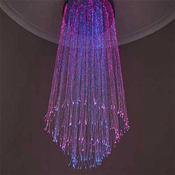 Fiber Optical Chandelier