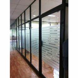 Aluminium Glass Office Partition