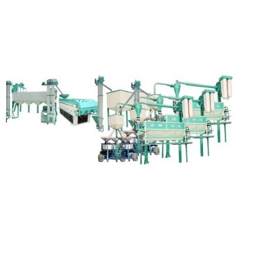 Standard High Quality Fully Automatic Industrial Chakki Atta Plant