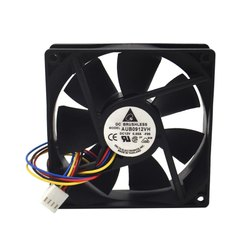Delta Cooling Fan AUB0912VH 12VDC 060A -F00