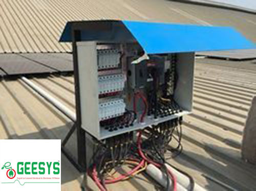 Solar String Combiner Box 22in 1out At Rs 25000 Piece