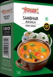 Shyam Dhani Sambhar Masala, Packaging Size: 100 g, Packaging Type: Box