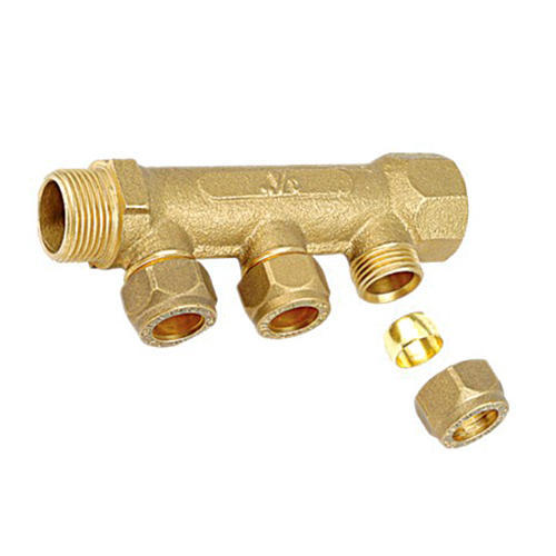 Brass Pex Heating Manifold