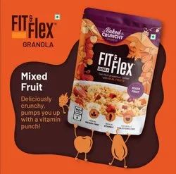 Oat - Rich Breakfast With Real Fruit(Mix Fruit), Packaging Type: Packet