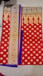Heavy Silk Banarasi Saree, With Blouse Piece