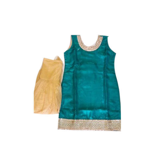 Cotton And Georgette Dhoti Salwar Kameez