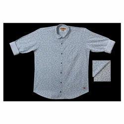 Mens Cotton Fancy Shirt, Size: M ?????? XXL