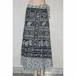 Wrap Around Cotton Skirt