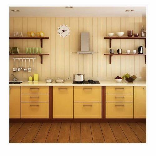 Modular Kitchen Size: Standard Straight Modular Kitchen, Rs 100000 /piece