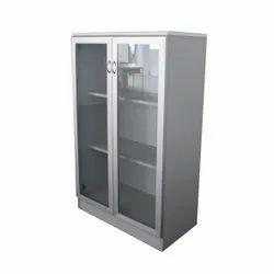 Veer Ss,Glass Glass Door Cabinet, Size: 810 H X 915 W X 425 D Mm