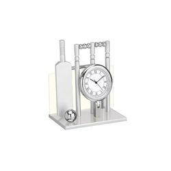 Desktop Cricket Set Clock