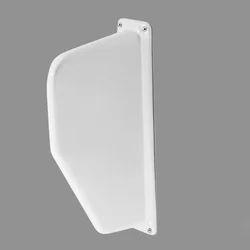 White Ceramic Urinal Division Plate