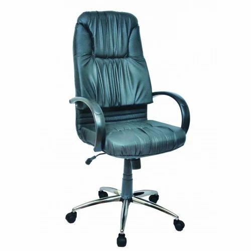 Black Beauty High Back Chair