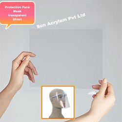 Protection Face Mask Transparent Sheet