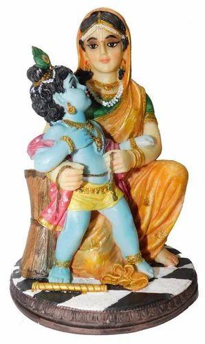 Yashoda Krishna Yashoda Damodar Idol Statue Showpiece At