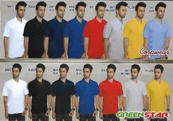 Male Cotton Collar Tshirts