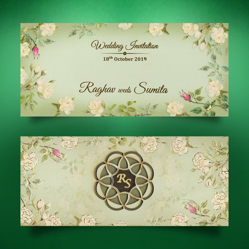 Luxury Designer Wedding Cards