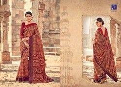 Manipuri Silk Saree, Length: 6.3 m