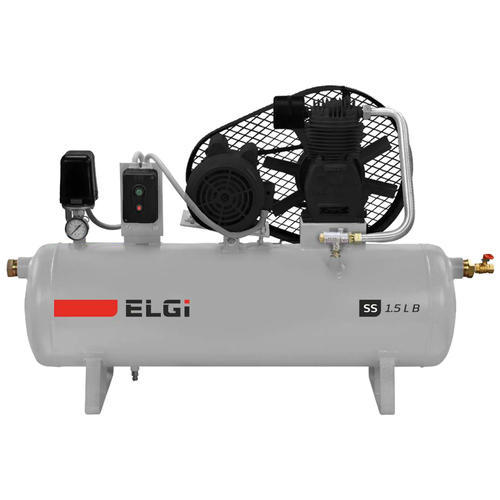 5 HP Automatic Two Stage Piston Air Compressor, SS1.5 LB ,110 to 240V