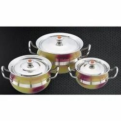 Double Colour Matrix Serving Bowl Set