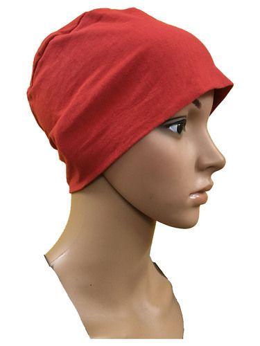 GIRRIJA Red cotton caps chemo beanies cancer caps women summer chemo caps  sleep turban for women c7ebfe034932