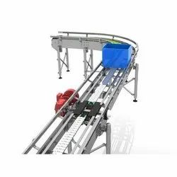Stainless Steel Crate Conveyor System