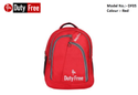 Red Color School Bag
