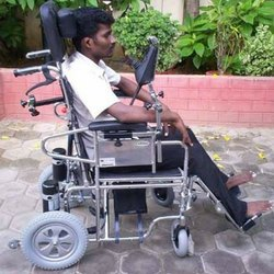 Chin Drive Wheel Chair Electric Power