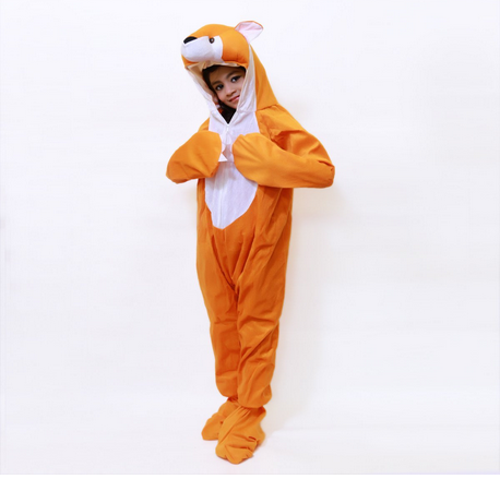 Complete Set Fox Animal With Hand and Shoe Cover Fancy Dress at Rs ... 38ec03aca