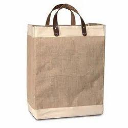 Brown Plain Eco Friendly Jute Bag