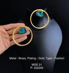 Fashion Agate Stone Earrings