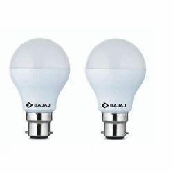 Angled Front Cool Daylight 9 Watt LED Bulb, 6 W - 10 W, Base Type: B22