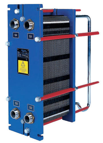 Brass And Copper Plate Heat Exchanger Gasketed Plate And