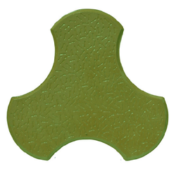 Green Colorado Tile Moulds