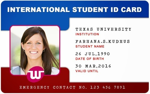 Computers 8069825762 Rectangular Student Id 15 Card Pvc Id Shreeji Rs piece
