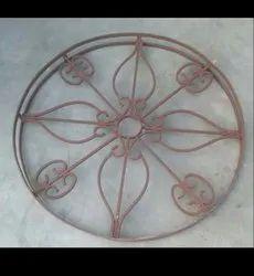 Iron Round Window Grill