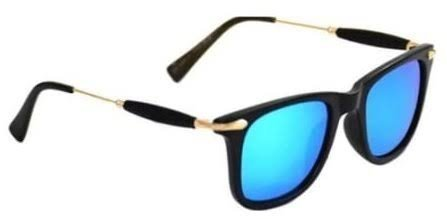 021067446ee PIXLTOUCH Golden Stick Blue Mercury Unisex Sunglasses at Rs 499 ...