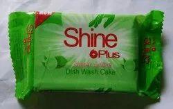 Dish Bar Cake Shine Plus Dishbar Cake 100 Gm, Packaging Type: Poly