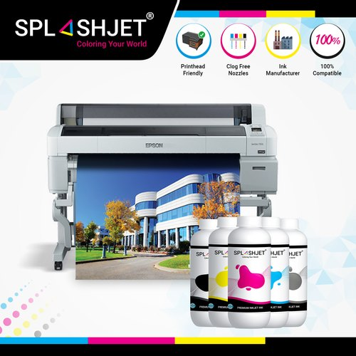 not oem Epson SureColor T3270 T5270 T7270 Cyan pigment ink cartridge compatible
